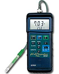 Heavy Duty pH/mV/Temp Meter 407228