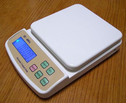 Digital Compact Scale เครื่องชั่งน้ำหนัก SF-400A