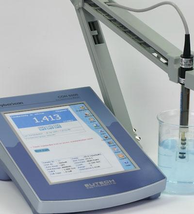 เครื่องวัดค่าการนำไฟฟ้า, ค่าความต้านทานไฟฟ้า CyberScan CON6000