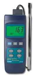 เครื่องวัดความเร็วลม เครื่องวัดอุณหภูมิ Hot Wire 407119