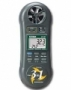 3-in-1 Humidity, Temperature and Anemometer 45160
