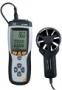 เครื่องวัดความเร็วลม CMM/CFM Thermo-Anemometer DT-8893