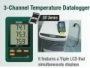 SD200: 3-Channel Temperature Datalogger + SD CARD