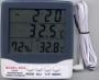 Thermometer เครื่องวัดอุณหภูมิ 2 จุด และความชื้น รุ่น HY-303C