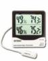 เครื่องวัดอุณหภูมิ ความชื้น (IN/OUT) Big Digit Hygro 445713